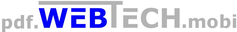 WebTech PDF