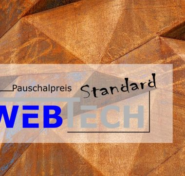 Pauschalangebot Website Standard